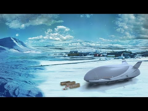 Lockheed Martin Airship & Hover Car Drones in the Arctic & Antarctica, Secret Space Program Disclosu