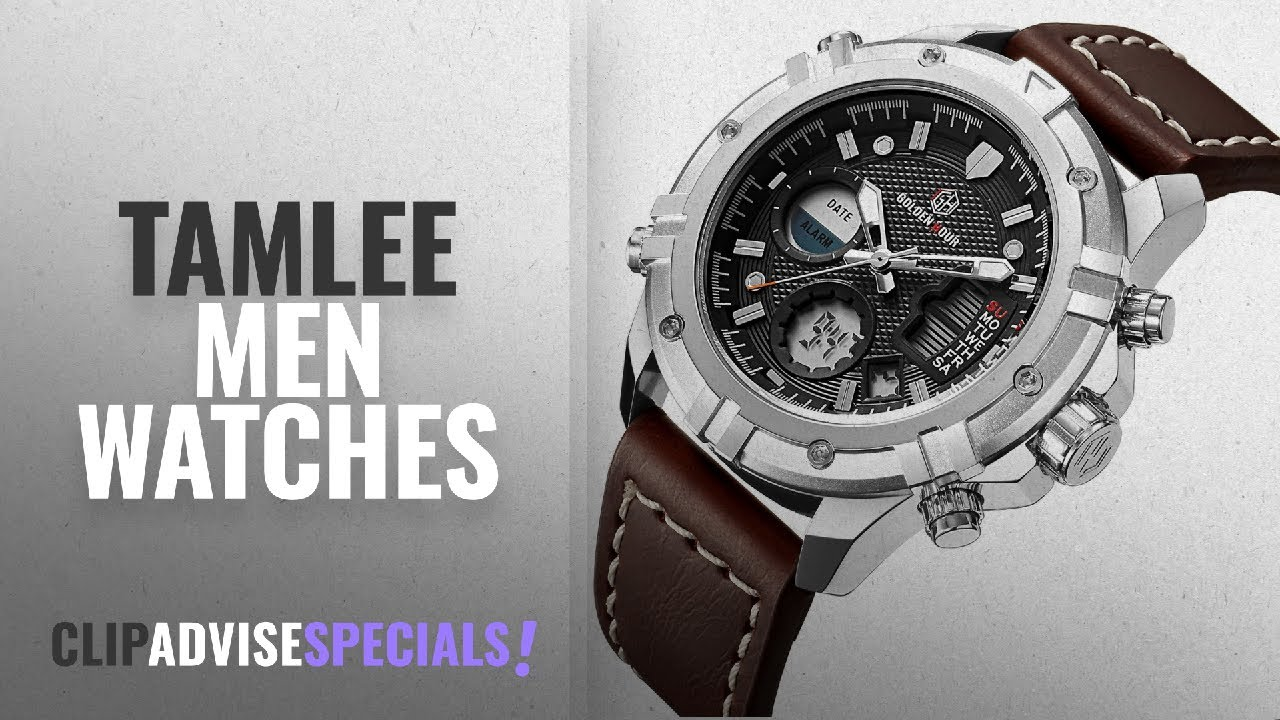 88a97131f62 10 Best Selling Tamlee Men Watches  2018    Tamlee Mens Sport Watch ...