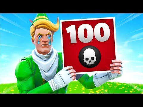 Losing 100 Games of Fortnite...