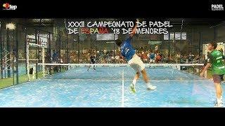 Resumen XXXII Campeonato de España de Pádel de Menores 2018