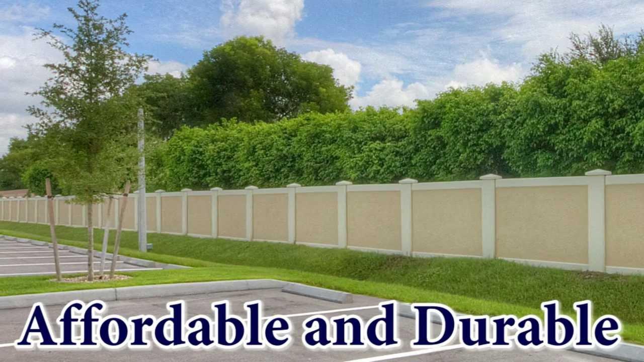 Precast Perimeter Fence Are Precast Concrete Fences For