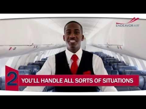 Become an Endeavor Air Flight Attendant