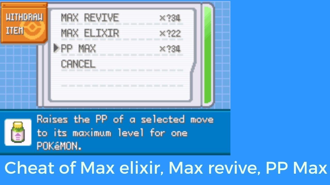Pokemon light platinum gba gameshark codes infinite pp