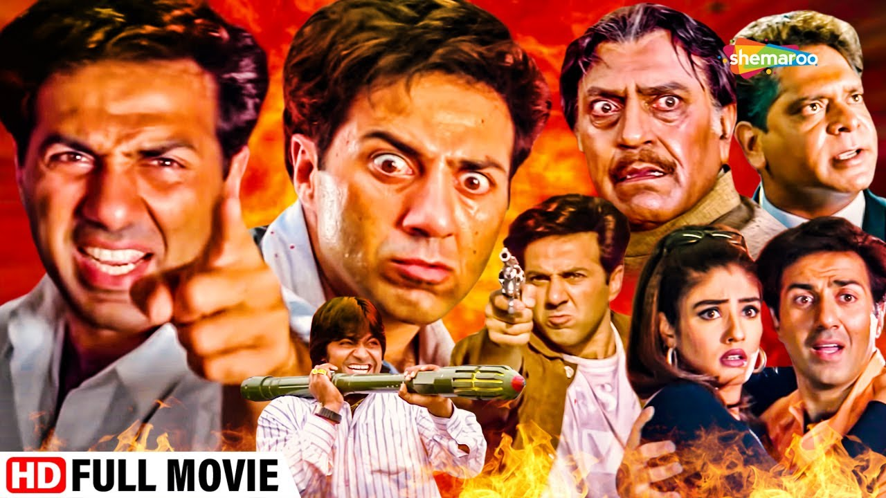 Download सनी देओल। अमरीश पूरी और रवीना टंडन की एक्शन हिट फुल मूवी | Action Blockbuster | Salaakhen