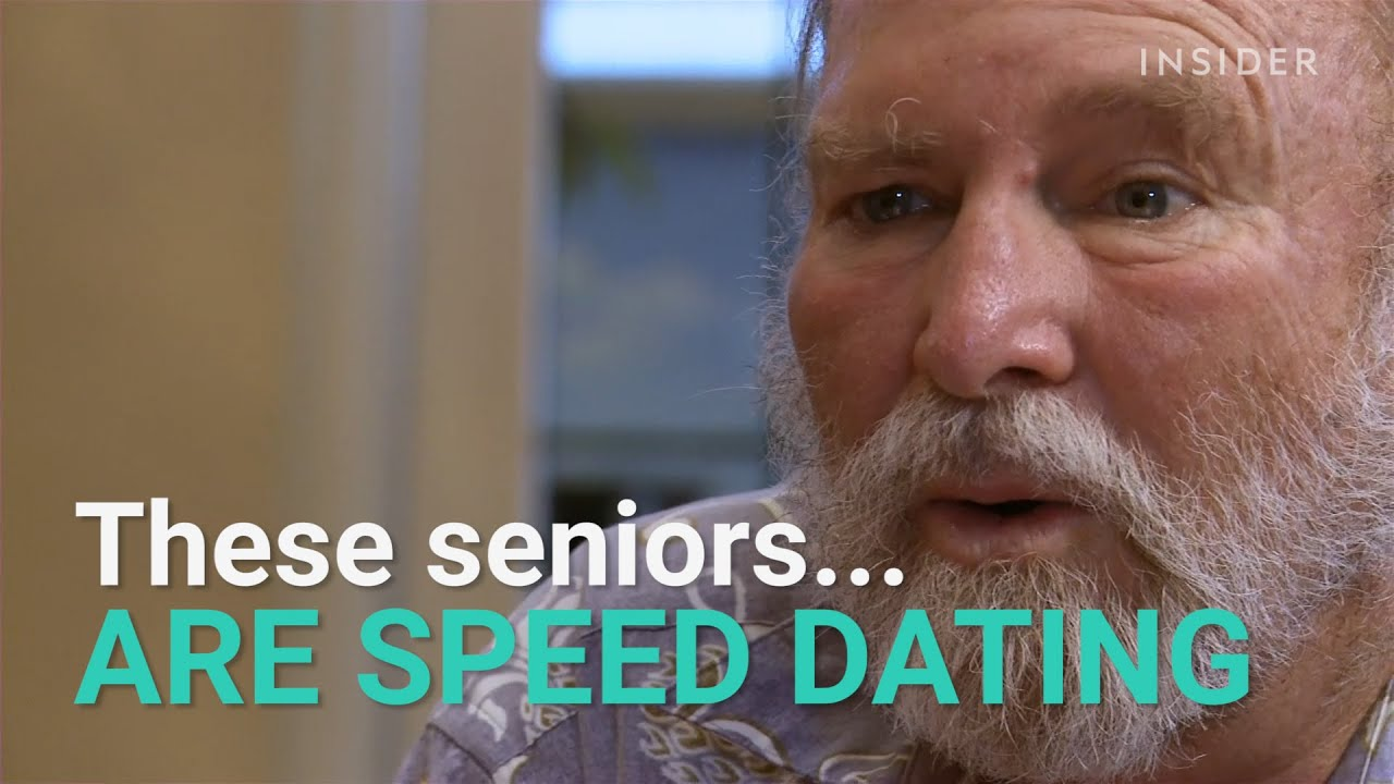 "speed dating for senior citizens Speed dating isn't just for millennials anymore inspired by a documentary called ""the age of love,"" senior citizens in portage, michigan, are participating in."