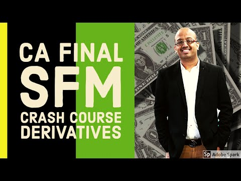 SFM CRASH COURSE DERIVATIVE CLASS 1