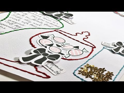 Scrapbooking Process Video: Christmas Traditions