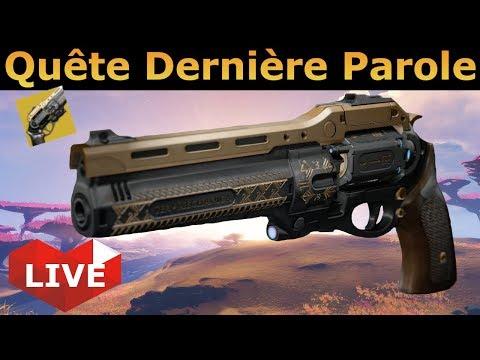 [Destiny 2] Quête Dernière Parole ! Le retour de l'arme mythique ! thumbnail