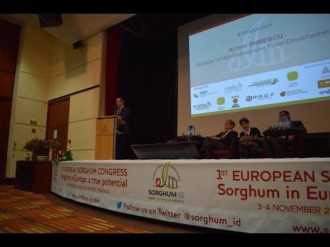 LIVE: 1st European Sorghum Congres