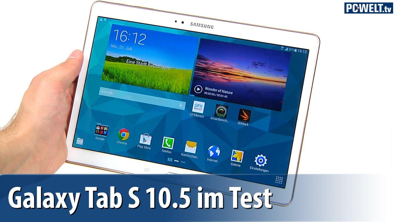 Test: Samsung Galaxy Tab's 10.5