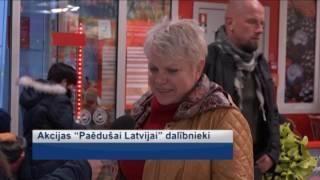 """Akcija """"Paēdušai Latvijai"""" Jūrmalā"""