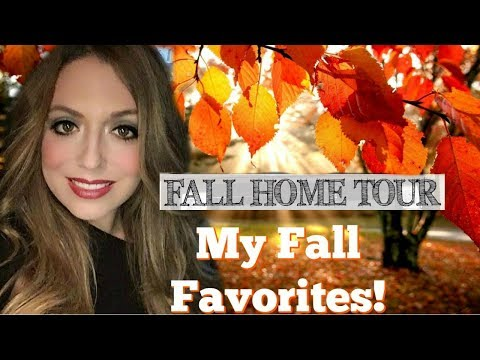 My Top 10 Fall Favorites 2018! Cozy Autumn Home Ideas 🍂 Fall Home Tour