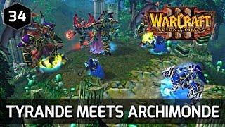 Warcraft 3 Story ► Tyrande Meets Archimonde - Night Elf Campaign