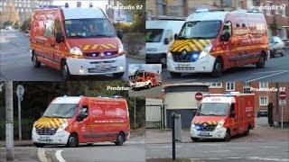 (Compilation) SDIS 59 VSAV Sapeurs-Pompiers de Dunkerque