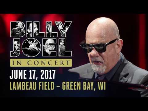 Billy Joel To Play Lambeau Field June 17, 2017