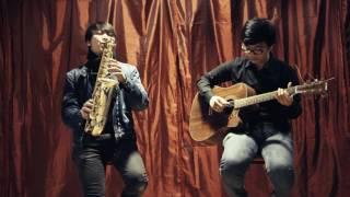 Awakening(Dave koz) - Bao Anh Saxophone/Chi Linh GUitar cover