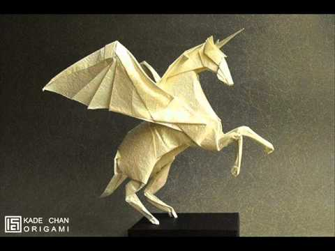 Origami Alicorn (Kade Chan) - Diagrams in Description