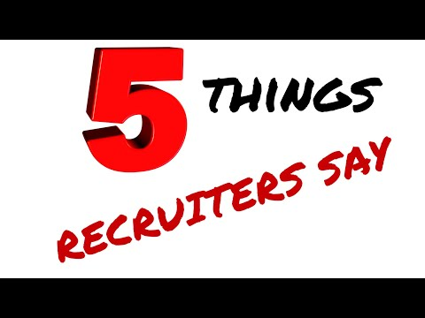 Trucking | 5 Things Recruiters Say