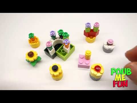 Lego Flower Planters Flower Beds Inverted Building Technic
