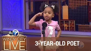 3-year-old blows away audience with poem for Black History Month! thumbnail