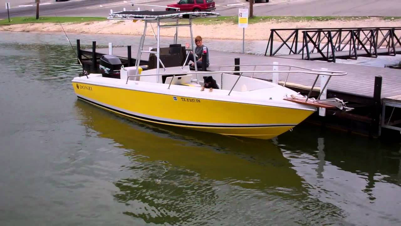 1988 donzi 23 39 fishing boat youtube for Donzi fishing boats