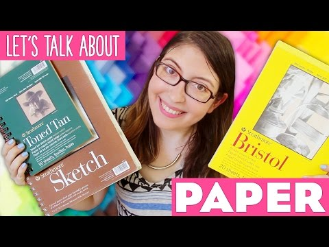Let's Talk About PAPER ~ Craft Supplies 101 by @karenkavett