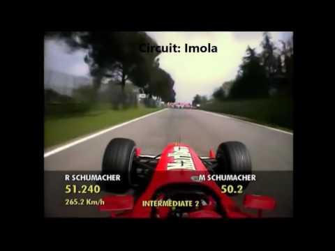 F1 Michael Schumacher Onboard 1991   2012