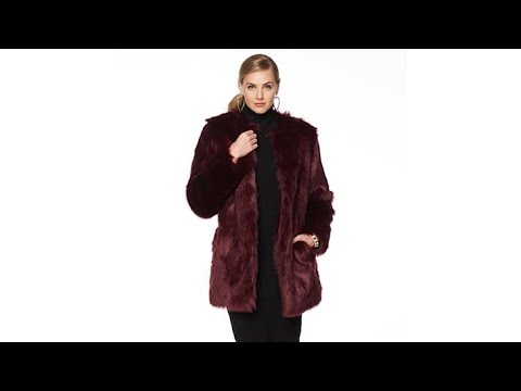 Wendy Williams Faux Russian Fox Jacket. http://bit.ly/39hppgG