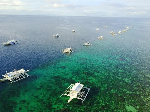 Bohol Islands of the Philippines on Mavic Pro