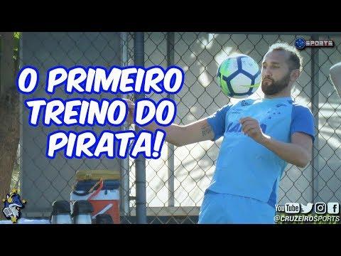 O PRIMEIRO TREINO DE HERNÁN BARCOS COM A CAMISA DO CRUZEIRO !!! ⚪🔵🦊👊