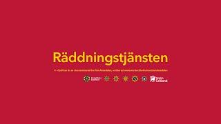 Liveström från Räddningstjänsten i Almedalen 2016