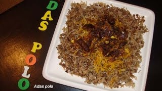 Adas Polo (persian Rice With Lentils, Raisin And Dates) By Farzifood.com