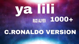 Herkesin dilindeki o arapca sarki balti yalili c.ronaldo version..