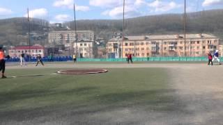 """Тигры"" Владивосток бейсбол Находка-2015"