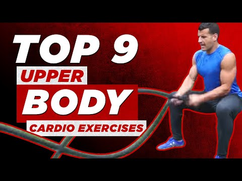 Top 9 Upper Body Cardio Workout Moves (Great for Leg Injuries!) | BJ Gaddour