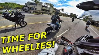 SUPERMOTOS TAKING OVER THE STREETS!!