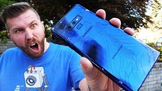 Galaxy Note 9 Drop Test! $3000 FAIL?