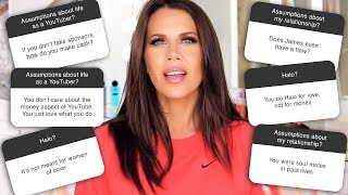 Download ASSUMPTIONS TAG:  My Marriage - YouTube Sponsorships - More! Mp3 and Videos
