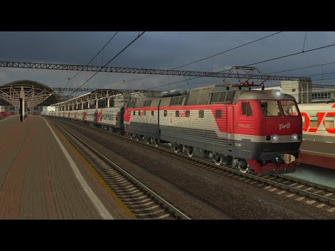 Стрим ZDSimulator - Москва-Брянск поезд 33