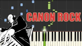 Download Mp3 Canon  Rock  - Jerry Chang  Piano Tutorial   Synthesia