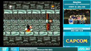 Mickey Mania by YellowKillerBee in 21:18 - Summer Games Done Quick 2015 - Part 23