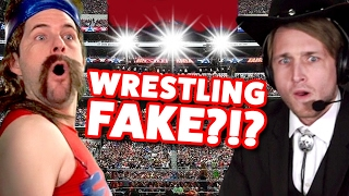 WRESTLING FAKE?!? (This Week In Smosh)