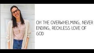 """Reckless Love"" - Cimorelli (Cover - Lyrics)"