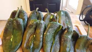 Chile Rellenos!! Stuffed Poblano peppers Cheese stuffed