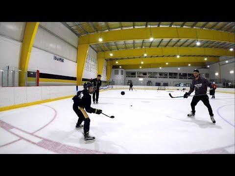 TROCHECK W/ 10 YEAR OLD HOCKEY DANGLER | IC Hockey