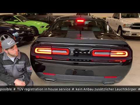 DODGE Challenger LIGHT CONVERSION | RÜCKLICHTER UMBAU
