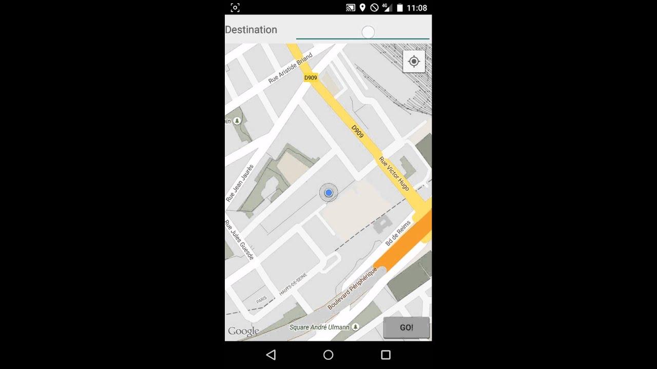 Google Maps API V2 | Draw direction - YouTube on