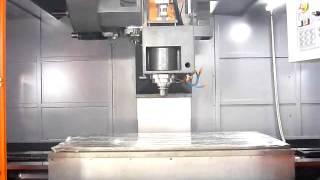 Вертикальный фрезерный обрабатывающий центр Winner VMC-L1601. Video1.