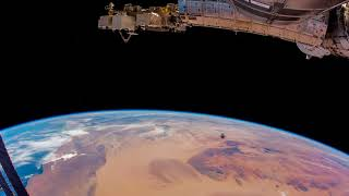 Earth from space: The International Space Station passes over Africa Timelapse