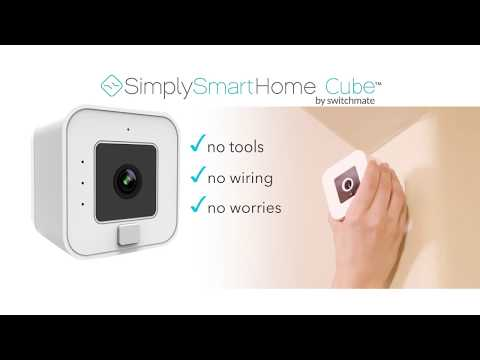 Simply Smart Home Cube Wireless Security Camera